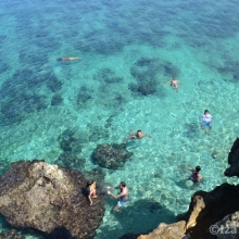 At Crystal Cove Island
