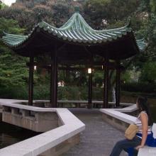 Gazebo at Hong Kong Park