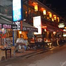 Pub Street in Siem Reap City