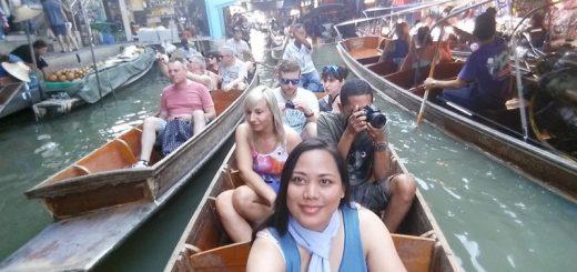 Damnoen Saduak, floating market
