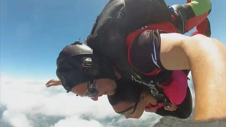 skydiving , australia