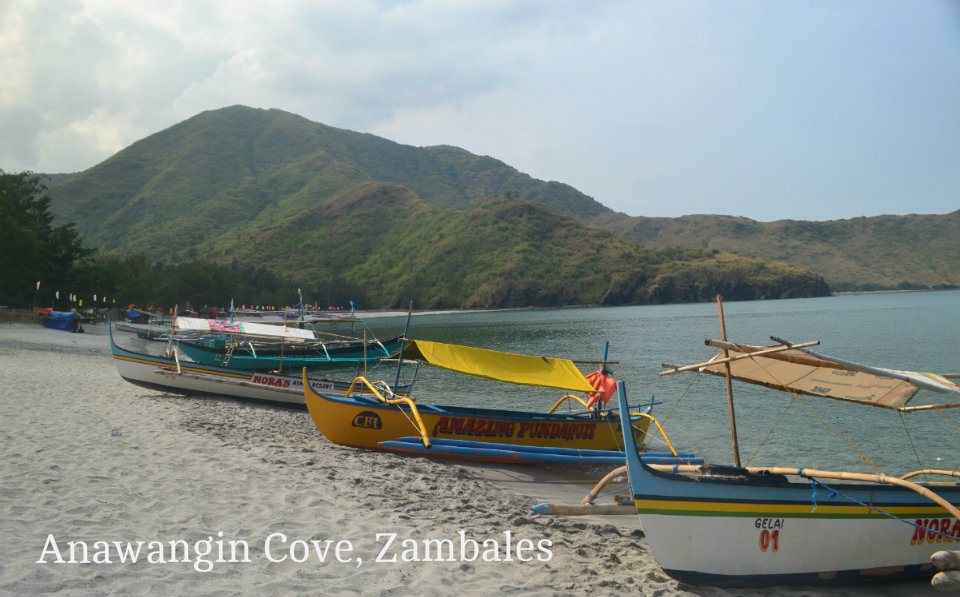 Nagsasa,  Anawangin Cove, Zambales