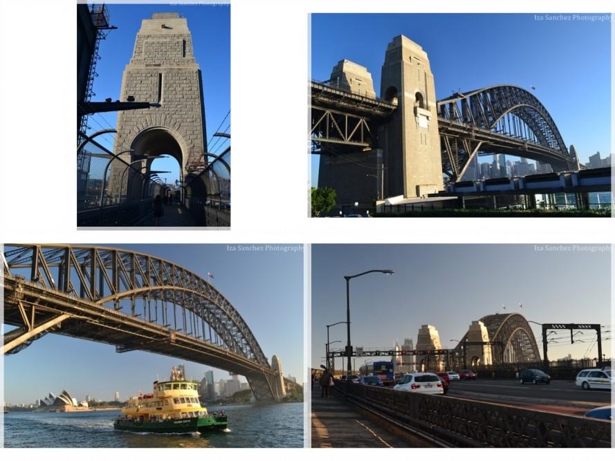 harbour bridge 4 pics